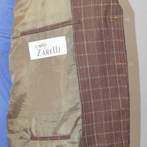 Carlo Zarelli Suits & Blazers - Carlo Zarelli 44R Sport Coat Blazer Suit Jacket Br